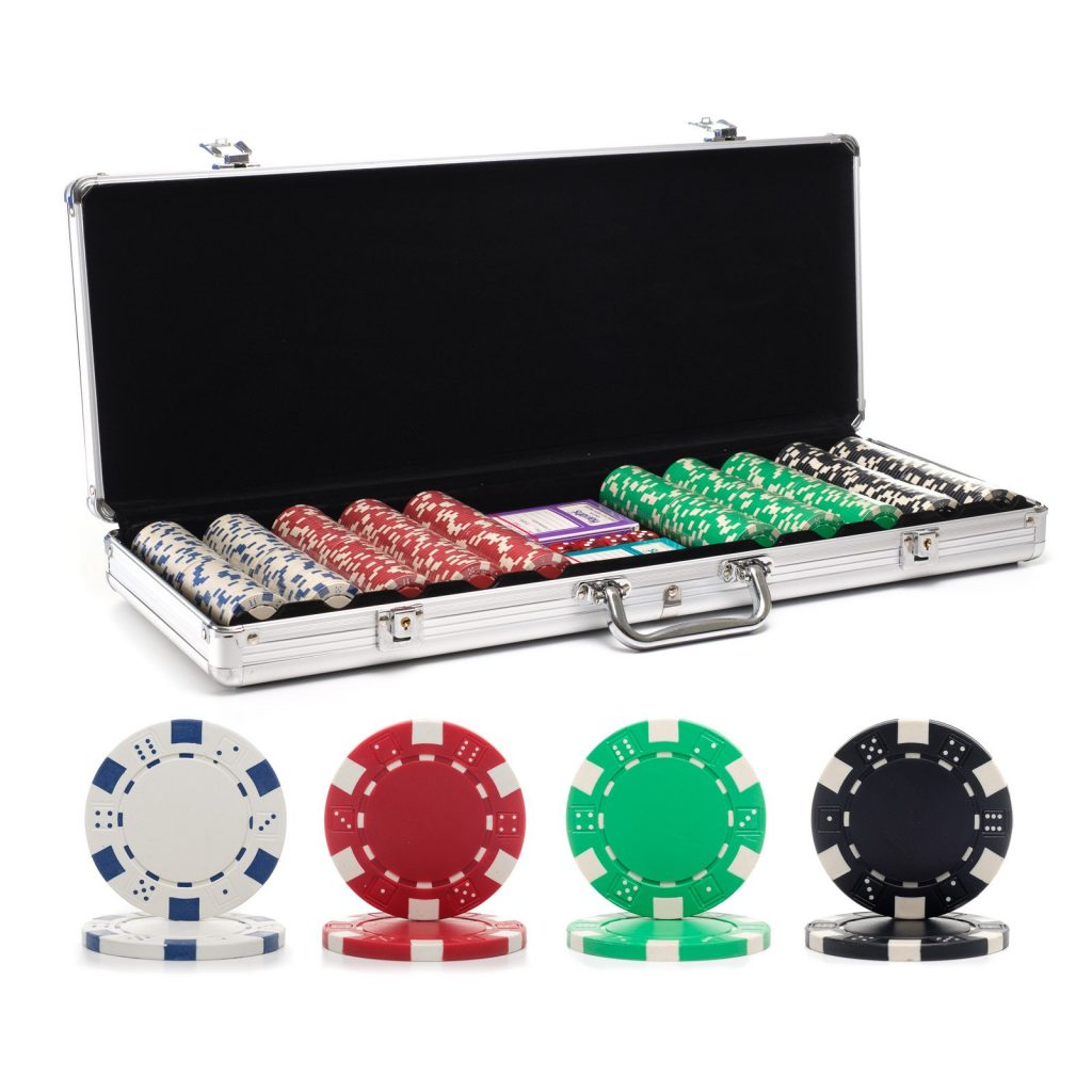 Chips and Games Custom Poker Chip Set