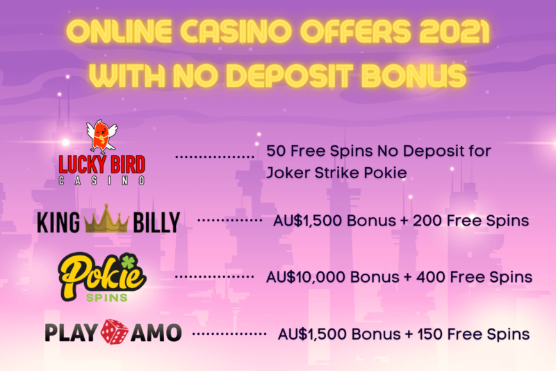 No Deposit Bonus Casino on pokieslab.com
